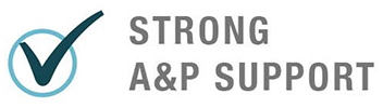 Strong A&P Support